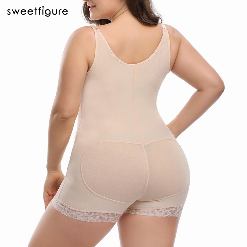 a3018d9fbae ... Girdle Bodysuit Waist Plus Size Hot Body Slimming Shapewear For Women  Control Pants ...