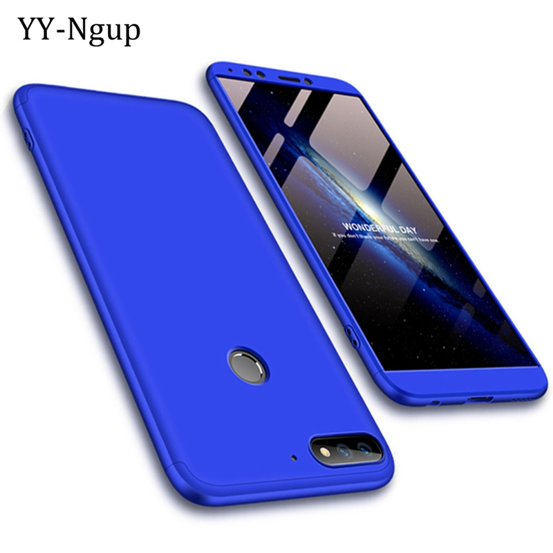 Honor 7C Case 360 Degrees Full Luxury Shockproof Phone Cases on for Fundas Huawei Honor 7C Pro 5.99 inch Case Cover 3 in 1 women 360 degrees