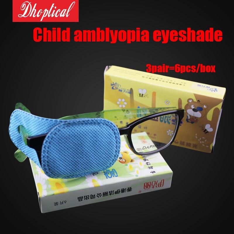 dítě amblyopia tréninkové oční stíny 1 taška = 6ks 5 tašek / hodně dobrá kvalita nízké náklady na dopravu velkoobchod
