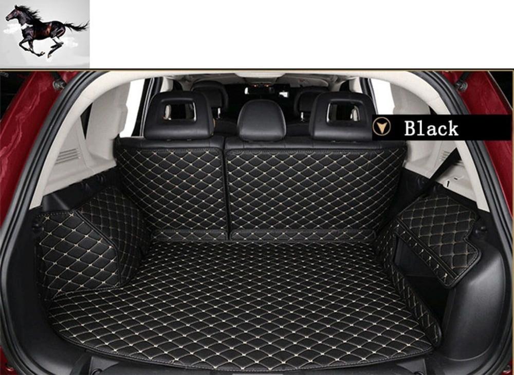 Topmats trunk mats for Jeep Wrangler 2007 2017 4 doors trunk protector cargo liner set floor mat on Aliexpress.com   Alibaba Group