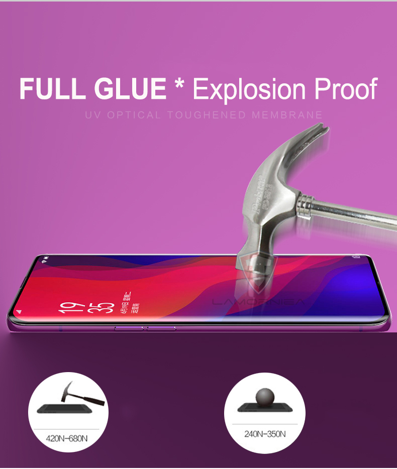 UV Tempered Glass For Samsung Note 9 8 S9 S8 S7 Edge 5D Full Liquid Glue Screen Protector For Samsung Galaxy Note 8 S8 S9 Plus 7