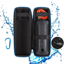 Wireless Bluetooth Speakers Travel Carry Cases Pouch For JBL Flip 4 Hard EVA With Belt Shockproof Portable Speaker Outdoor Bag