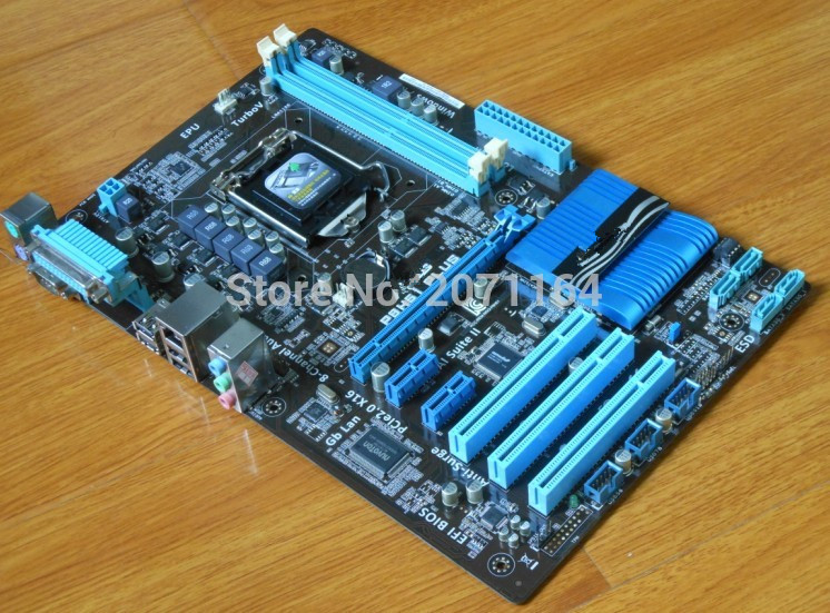 original motherboard for ASUS P8H61 PLUS DDR3 LGA 1155 RAM 16G Desktop motherboard H61 mainboard Free shipping free shipping original motherboard for asus p8p67 le ddr3 lga 1155 ram 32g motherboards sata3 0 usb3 0 mainboard