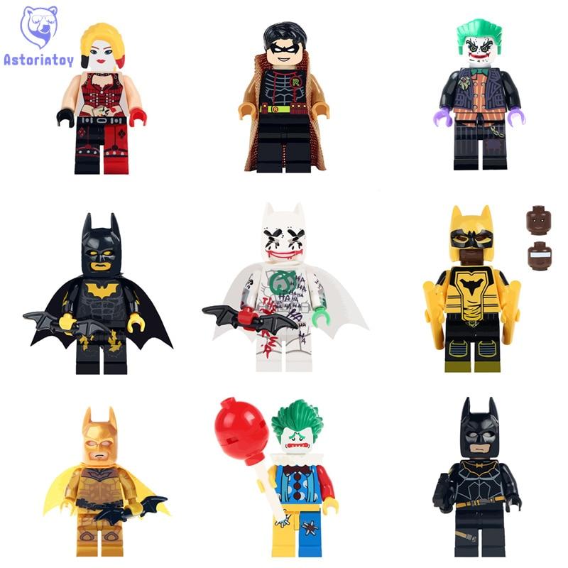font b Building b font Blocks Single Sale Batman Robin joker Bricks font b Model