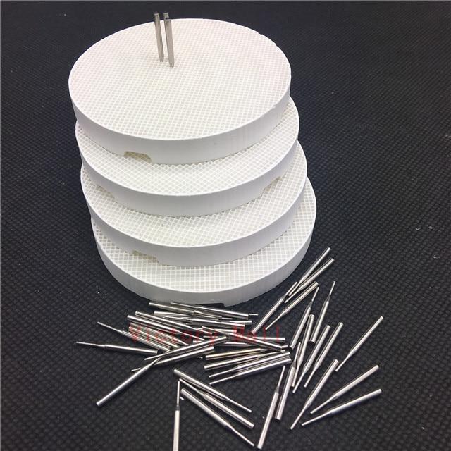4 piezas de laboratorio Dental de nido de abeja de cocción 4 piezas con 40 Pines de Metal caliente de la venta