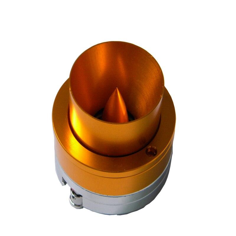 High-end  2pcs/lot 1500W 4Ohm Car Bullet Core Horn Loud Speakers Tweeter Aluminum Acoustic Trumpets Auto Gold Treble Driver