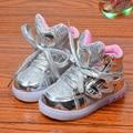 2017 crianças das crianças asa led light up criança shoes chaussure enfant meninos gilrs tênis casual shoes 1 2 3 4 5 6 7 8 anos de idade