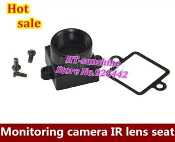 Free shipping  50PCS/LOT  22mm screw distance metal board lens holder/CCTV metal lens mount.cctv lens holder+screw