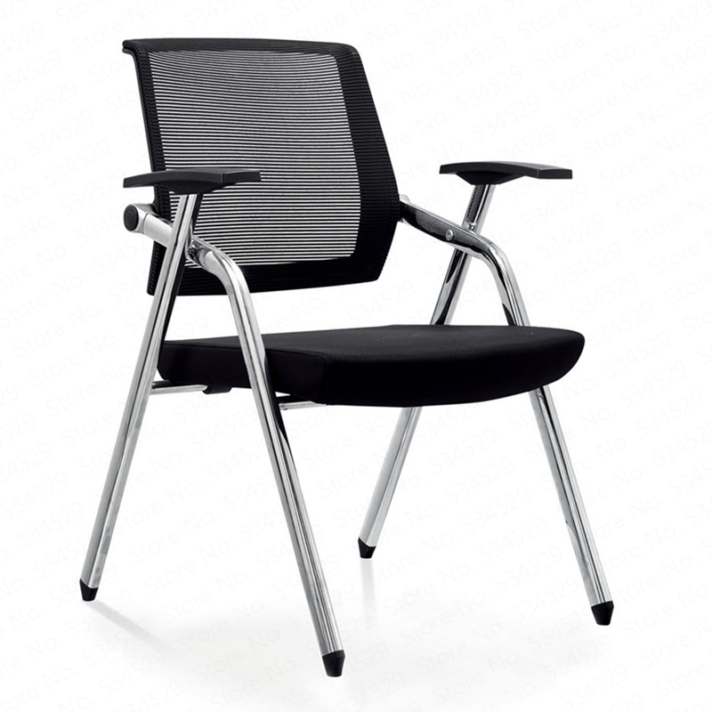 F04 Training Office Chair With Writing Board Conference Chair Folding Dining Chair Mobile Conference Chair Conference Chairs