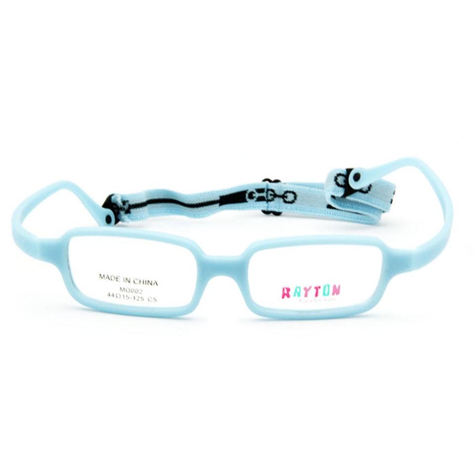 Childens Optical Glasses Frame Boys Flexible Kids Glasses With Strap Fiber Screwless Eyewear Oval Unbreakable 10pcs Men's Glasses