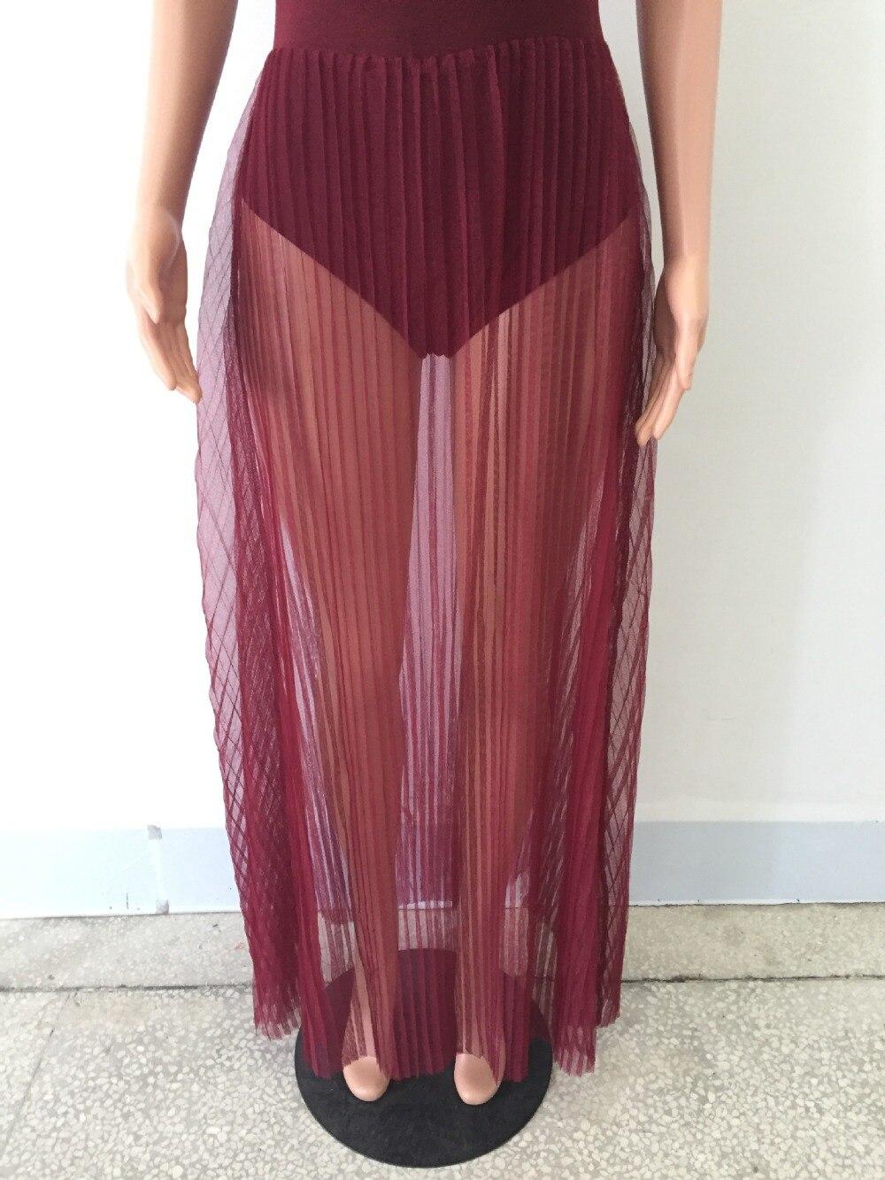 5009f4ce1514 2017 Estate Delle Donne del vestito Sexy Discoteca Maglia di Cotone Solido  Carro Armato Maxi vestito Pieghettato vestito da Partito abiti vestidos in  2017 ...