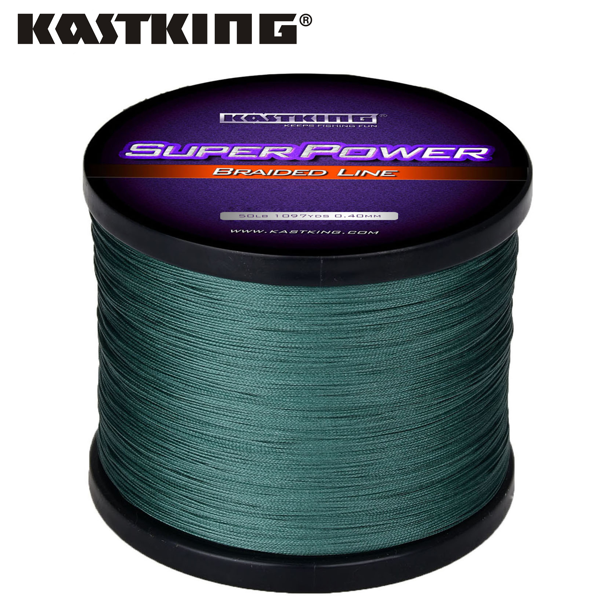 KastKing Superpower Series 1000m PE Braided Fishing Line 10 15 20 25 30 40 80LB Multifilament Braid Line for Saltwater Fishing