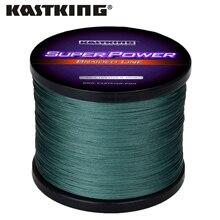 KastKing Superpower Series 1000m PE Braided Fishing Line 10 15 20 25 30 40 80LB Multifilament Braid Line for Saltwater Fishing