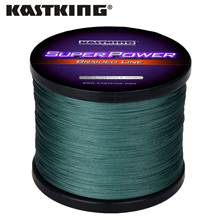 Kastking superpower 시리즈 1000m pe 꼰 낚시 라인 10 15 20 25 30 40 80lb 바닷물 낚시 용 멀티 필라멘트 브레이드 라인