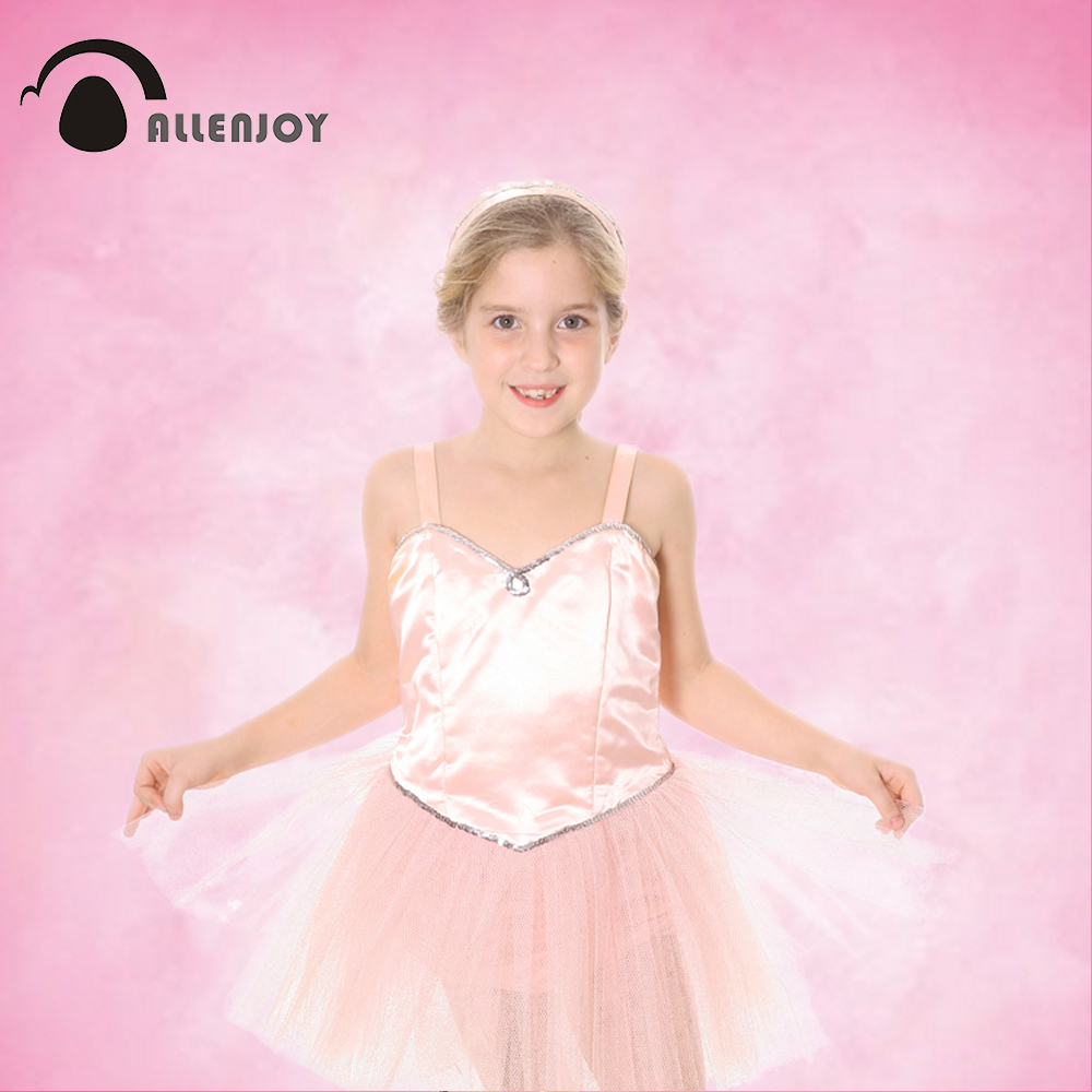 Allenjoy Thin Vinyl cloth photography Backdrop Pink Computer Printing Background for Wedding Photo Studio Pure Color MH-027 allenjoy photography backdrops floor mosaic school blackboard kids vinyl photocall photographic studio computer printing lovely
