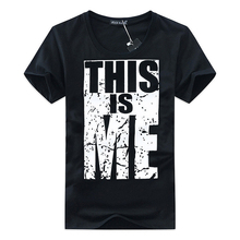2017 New Brand Clothing Men T-shirt Cotton Male personality Print T shirt Homme Fitness Hip Hop t shirt Men