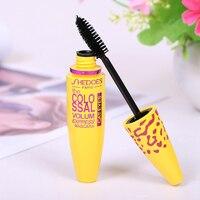 Yellow Tube Mascara 3d Mascara Fiber Lashes Thick Curling Lasting Waterproof Black Concentrated Eye Mascara Cosmetics TSLM2 4