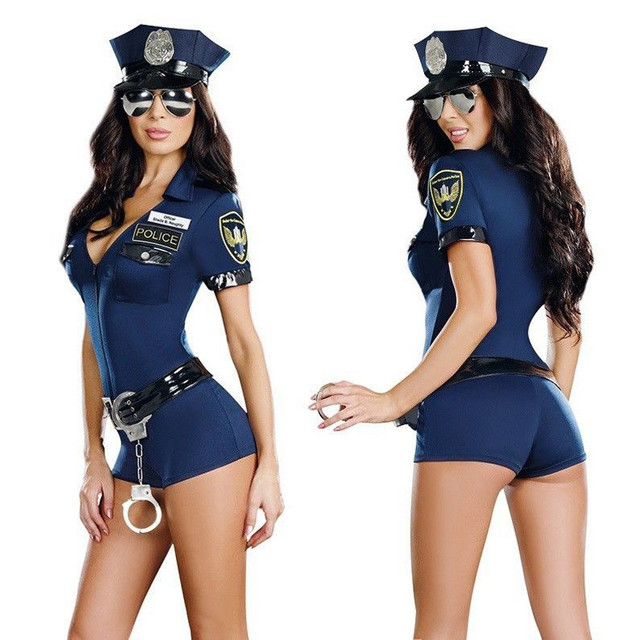 2018 Halloween Costumes For Women Police Cosplay Costume Dress Sex Cop  Uniform Sexy Policewomen Costume Outfit Prom