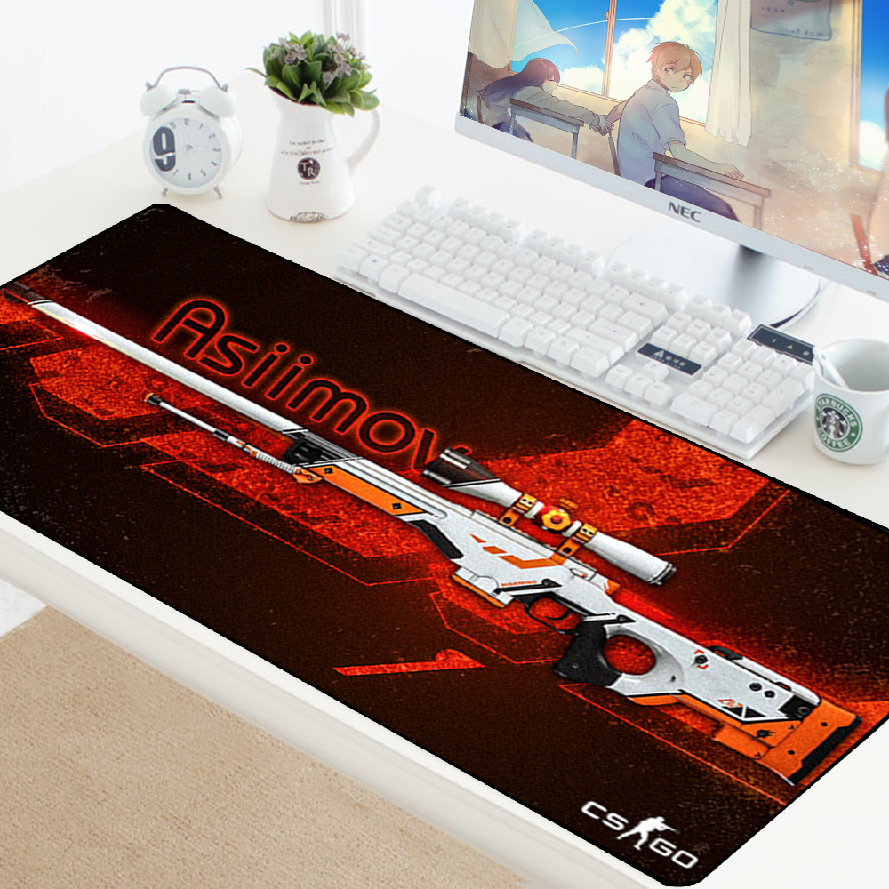 Image 3 - Large Game Mouse Pad Mat Laptop Gaming Mousepad Anti slip Natural