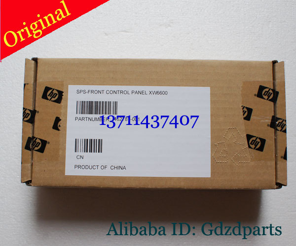 ФОТО Original New SPS-FRONT CONTROL PANEL XW6600 462787-001 Power on/off button Cable