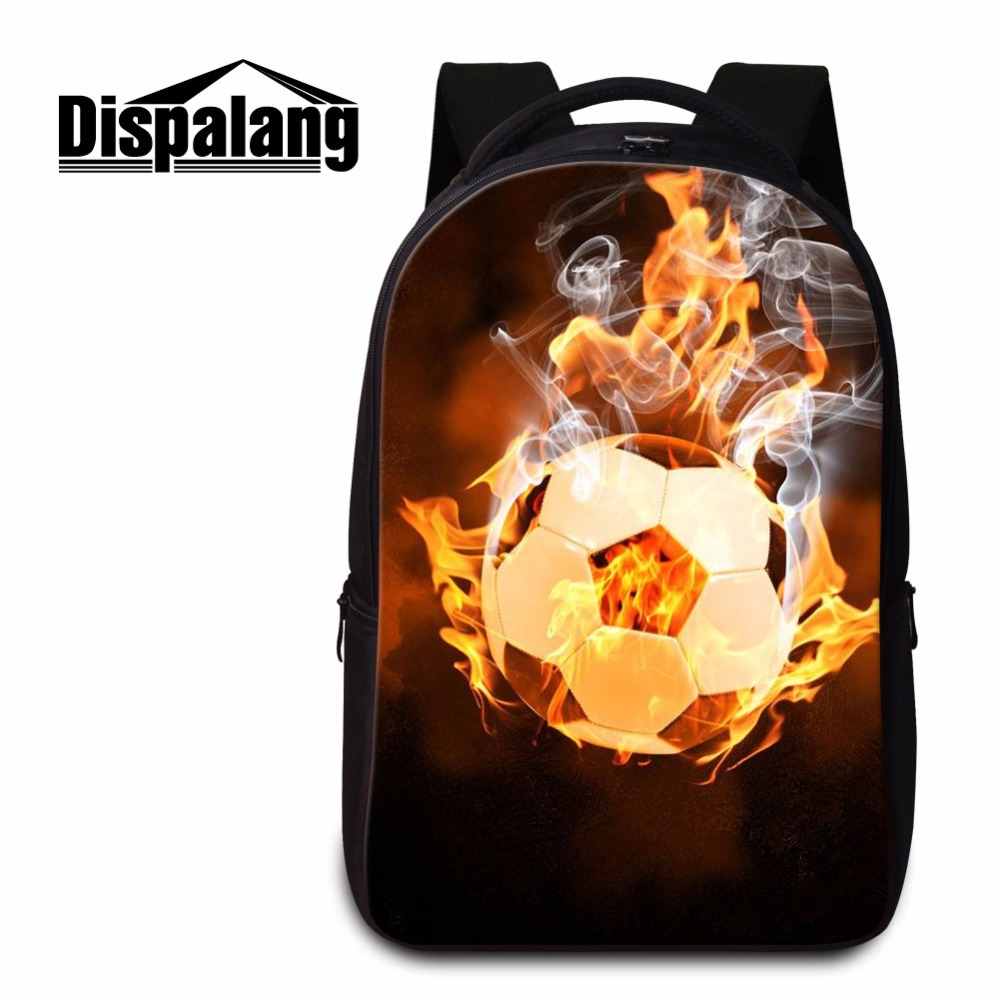 Dispalang men large capacity laptop backpack shoulders bag for 14 inch laptopbags ball pattern school bags for college students ly12014the new leisure backpack hiking backpack shoulders laptop bag male or female capacity students bag fashion women backpack