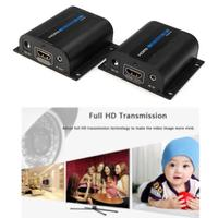 Useful 60M IR HDMI Adapter Extender Over Single LAN RJ45 CAT5e CAT6 7 Cable A273