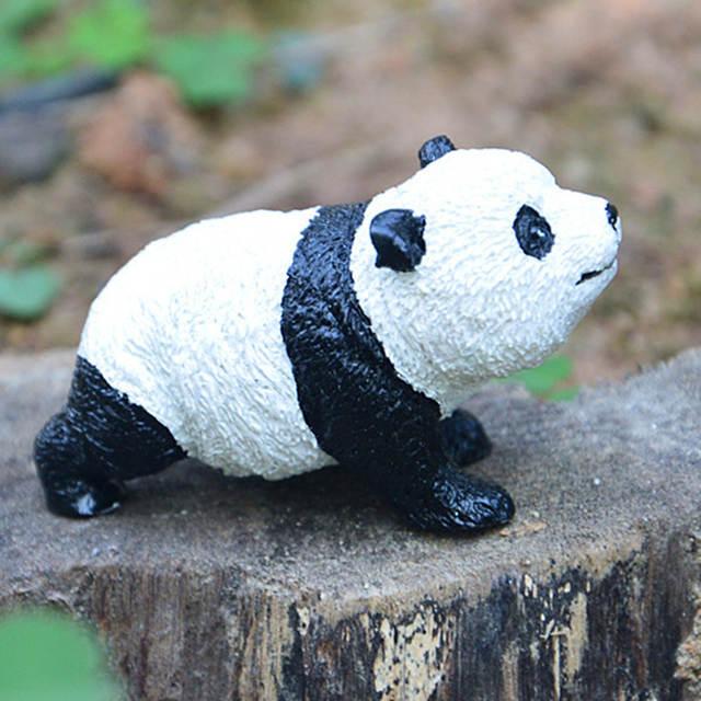 Super Cute Giant Pandas Gardening Micro Landscape Mini Simulated