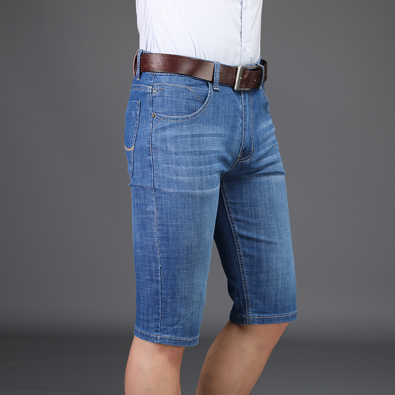 87fab696a2 Compre SULEE Brand New Arrive Shorts Hombres Jeans Ropa De Marca ...
