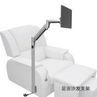 Индивидуальный пол крепление монитор держатель напольная подставка диван прикроватный фиксированный телевизор крепление для кресло для м