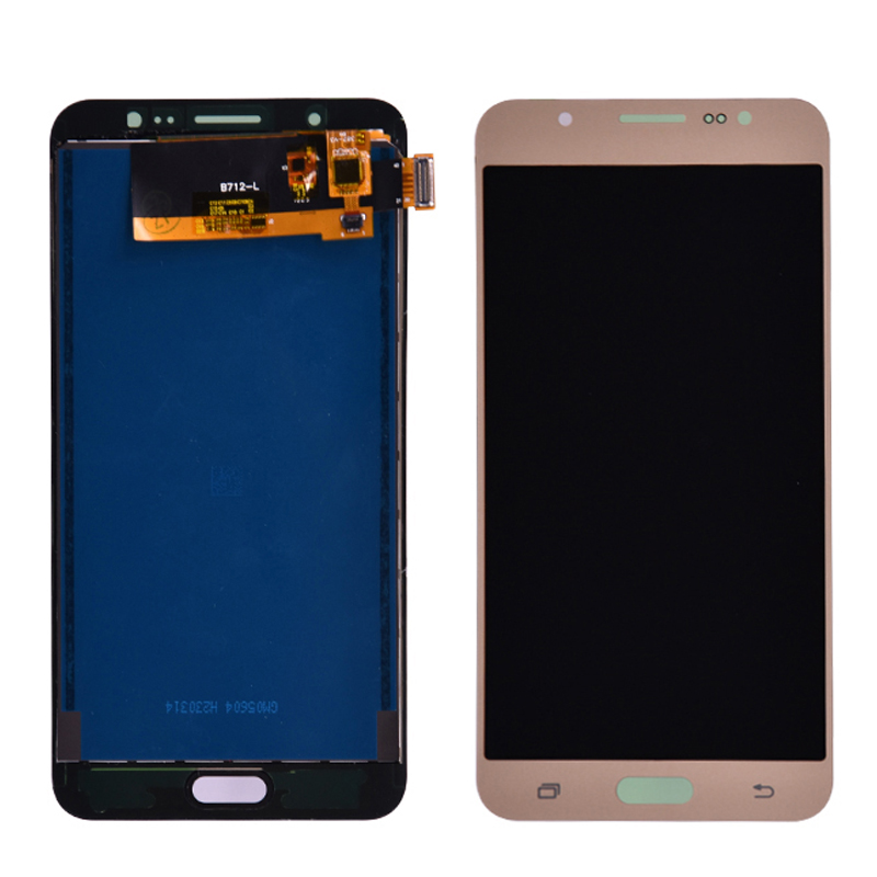 Für Samsung Galaxy J7 2016 J710 SM-<font><b>J710F</b></font> J710M J710H J710FN <font><b>LCD</b></font> Display und Touch Screen Digitizer Montage einstellen helligkeit image