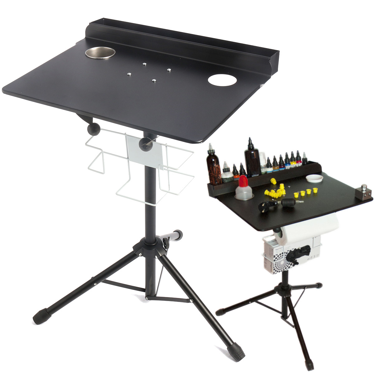 Adjustable Tattoo Work Desk Table Compact Stand Professional Tattoo Station Body Art Tattooing Supply Permanent Makeup Equipment