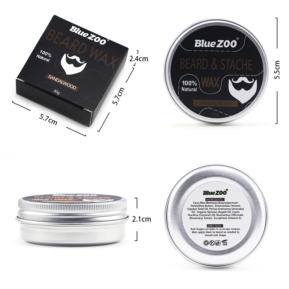 HTB1 Lt7gDCWBKNjSZFtq6yC3FXaV - 7Pcs/Set Natural Moisturizing Beard Care Grooming Trimming Kit