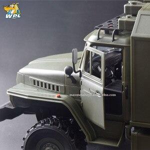 Image 5 - WPL B36 масштаб 1:16 Радиоуправляемый автомобиль 2,4G 6WD военный грузовик гусеничный автомобиль управления и связи RTR игрушка Carrinho de Control