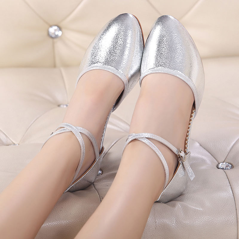 New Style Women Dance Shoes High Quality Ladies Latin Tango Salsa Party Dancing Shoes Soft Bottom Ballroom Girls Dance Shoes in Dance shoes from Sports Entertainment