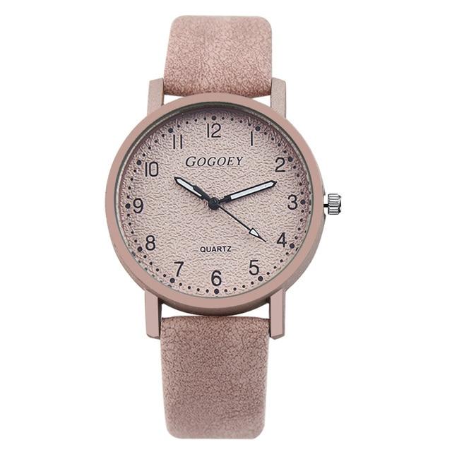 Gogoey Brand Women's Watches Leather Women Wrist Watch Women Watches Fashion Lad