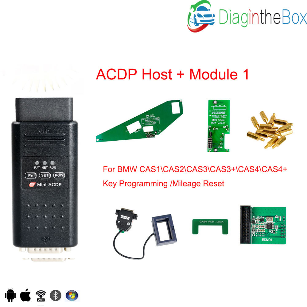 US $70 0 |Yanhua Mini ACDP programming master support BMW CAS FEM BDC key  program without soldering Refresh key FRM Footwell module on Aliexpress com