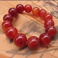Natural Sardonyx Bracelet lovers hand bead jade hand on men and women need genuine jade red agate beads