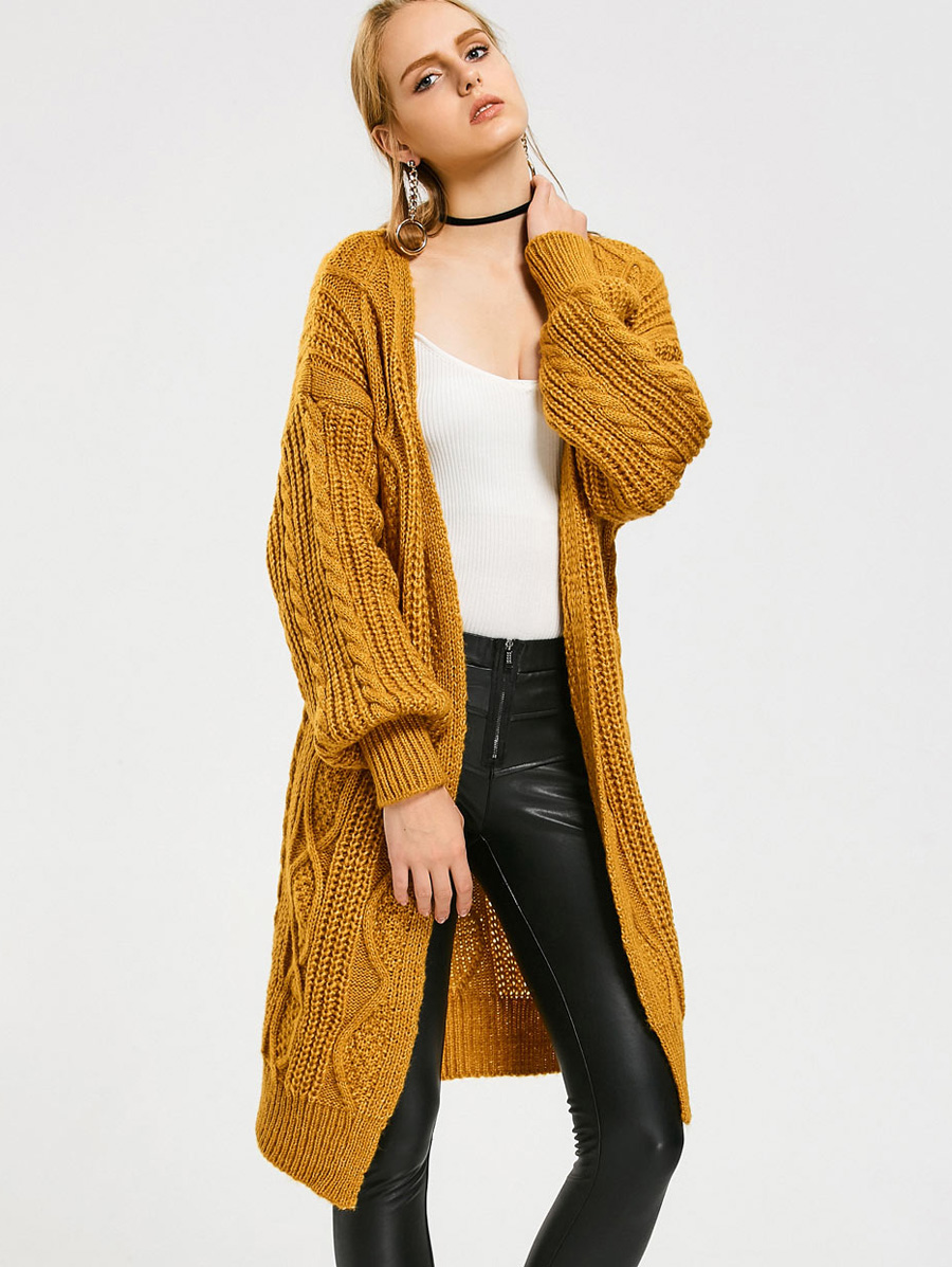 Online Get Cheap Cable Knit Sweater Cardigan -Aliexpress.com ...