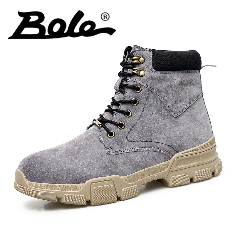 Popular Men Martin Boots Winter with Fur Flat High Top Hot Round Toe Lace Up Boots Hard-wearing Warm 2018 Cotton Boots for Male popular men martin boots winter with fur flat high top hot round toe lace up boots hard wearing warm 2018 cotton boots for male