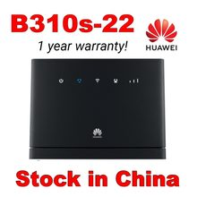 Unlocked Huawei B310 B310s-22 with Antenna 150Mbps 4G LTE Wireless Router Wifi Router with Sim Card Slot Up to 32 Devices(China)