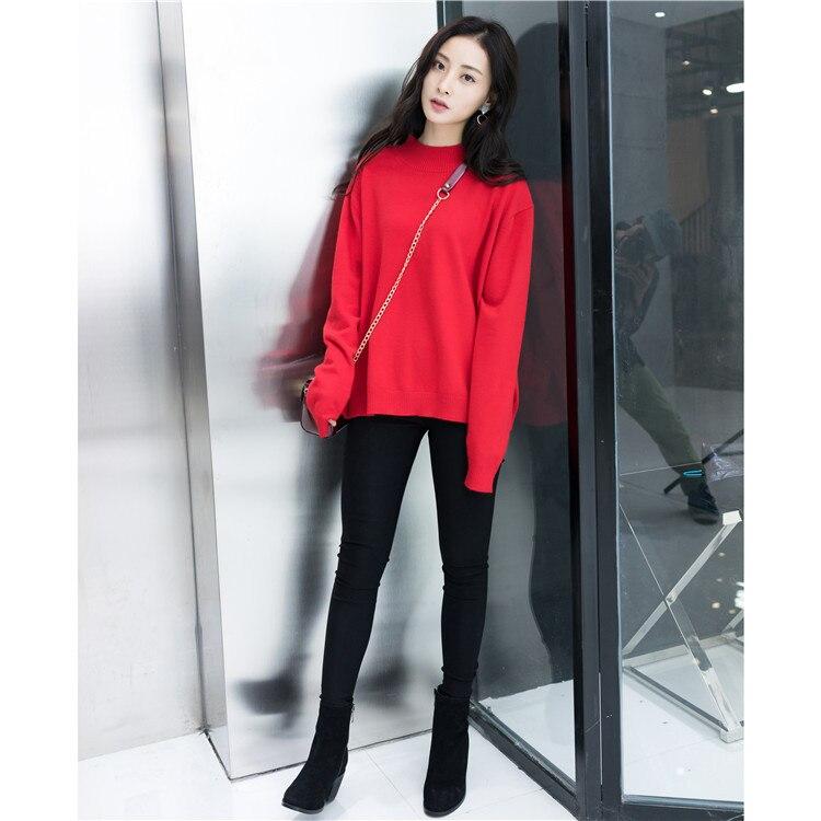 En la primavera de 2017 suéter nuevo vestido Coreano del todo-fósforo puro cabez