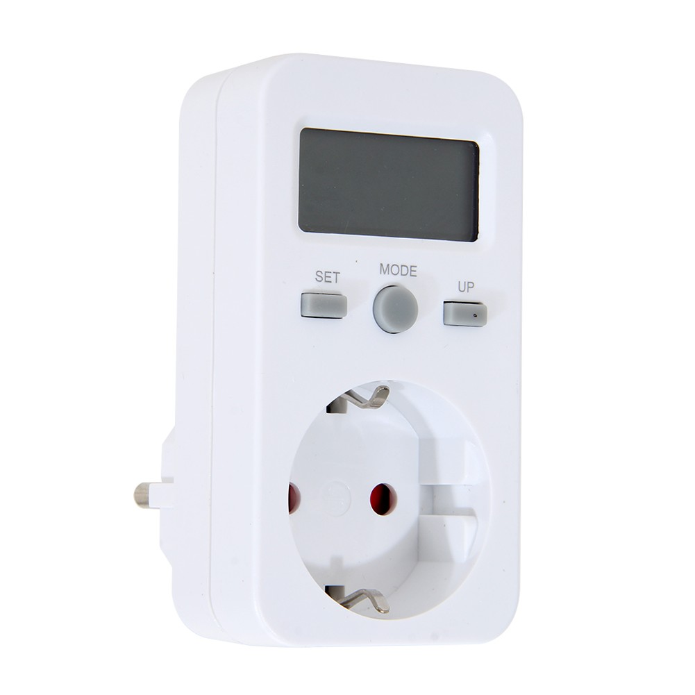 Plug In Power Meter : Digtal energy meter socket plug in electric power