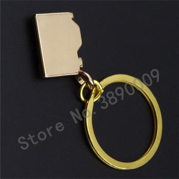 Creative mini metal retro camera key photo key ring car key ring LOGO custom FREE SHIPPING BY DHL