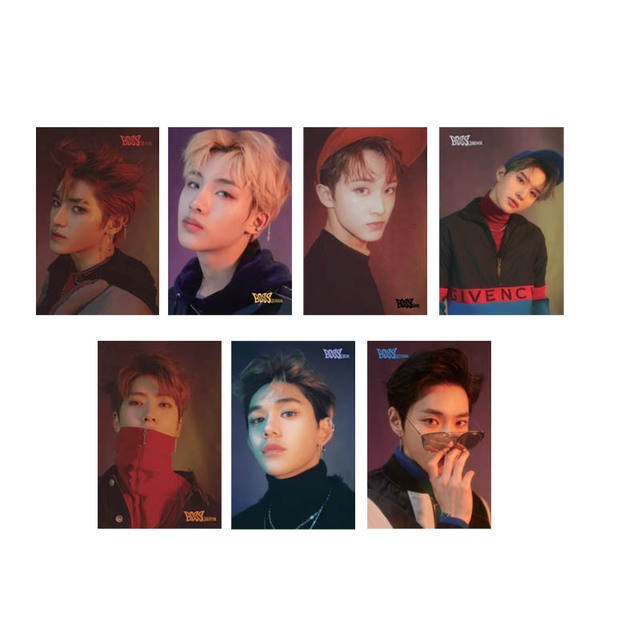 US $1 79 40% OFF|Youpop KPOP NCT DREAM NCTU NCT127 Album Transparent Photo  Card PVC Cards Self Made LOMO Card Photocard XK551-in Jewelry Findings &