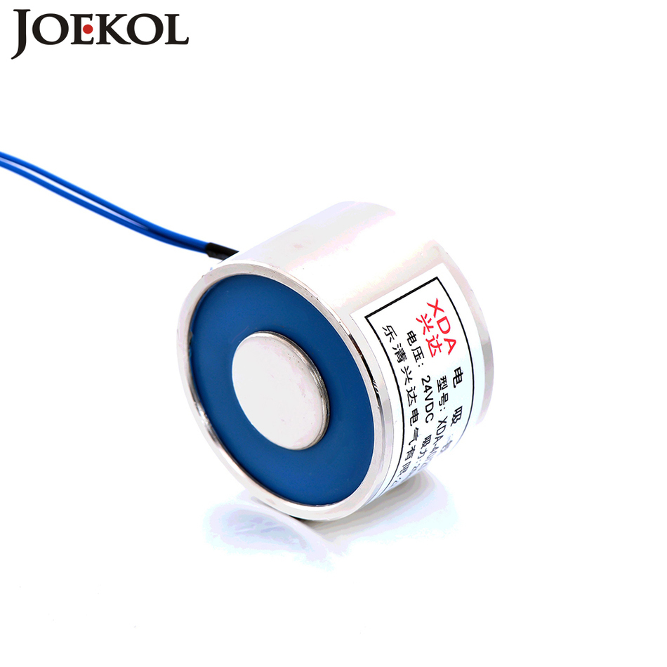 JK40/30 DC 6V 12V 24V Electromagnet Lifting 30KG Solenoid Sucker Holding Electric Magnet Non-standard customJK40/30 DC 6V 12V 24V Electromagnet Lifting 30KG Solenoid Sucker Holding Electric Magnet Non-standard custom