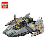 LEPIN 05030 722Pcs Star Wars Vader Tie Advanced VS A Wing Starfighter 75150 Building Blocks Toy