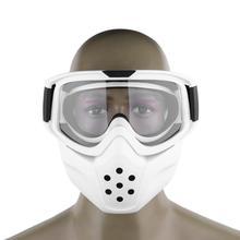 New Ski Glasses Motorcycle Goggles For Masque Motocross Goggles Helmet Glasses Windproof off Road Helmets Mask Goggles Skate Sun
