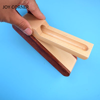 New Foldable Wooden Pencil Case For Just One Pen Storage Box Creative Wooden Pencil Box Multifunction