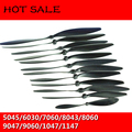 10Pcs/Lot with Small Hole 8043 6030 Plastic Propeller 8060 9047 1047 7060 1147 Prop For Fixed Wing RC FPV Quadcopter