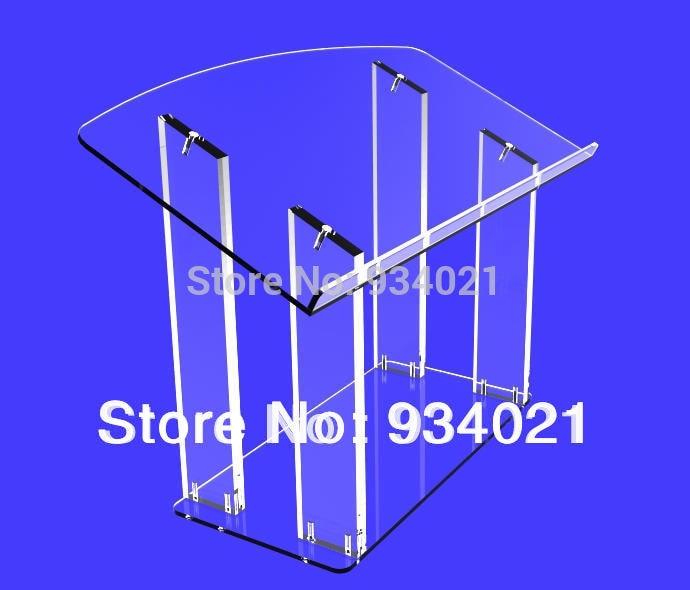 Clear Acrylic PodiumClear Acrylic Podium